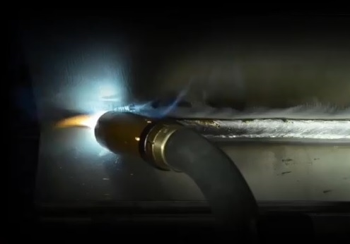 MIG welding with Metal cored wire