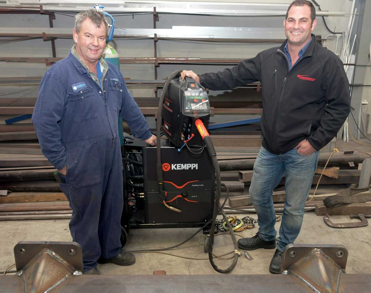 Clarke Engineering combine Kemppi and Kobe for perfect welds
