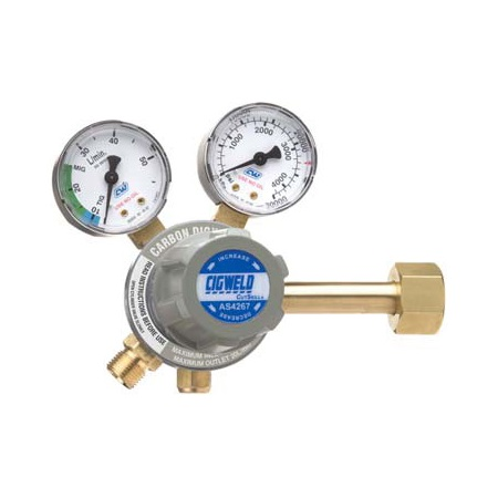 CIGWELD WELDSKILL CO2 REGULATOR SI 20LPM