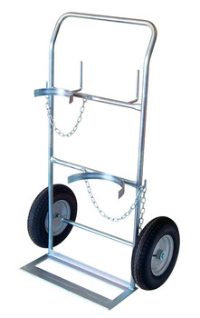 DOUBLE GAS BOTTLE HAND TROLLEY