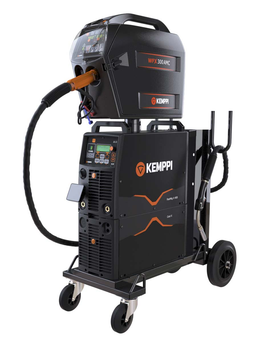 KEMPPI FASTMIG X 450 PULSE WELDING MACHINE
