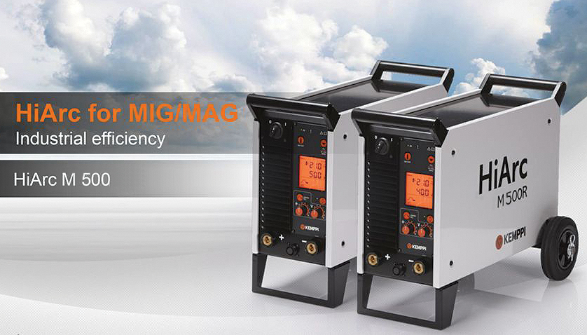 KEMPPI HIARC M500R INVERTER WELDING MACHINE